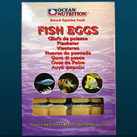 Huevos de pescado ocean nutrition alimento congelado para acuario marino y medusas