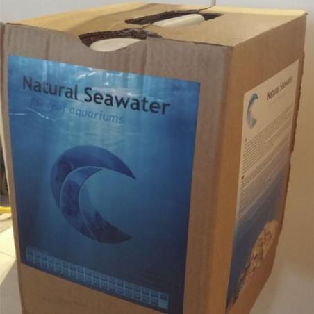 Agua de mar natural garrafa de 20 litros
