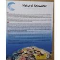 Agua de mar envasada a la venta para acuarios marinos