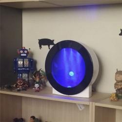 Jellyflap acuario para medusasen la habitación de mi hijo
