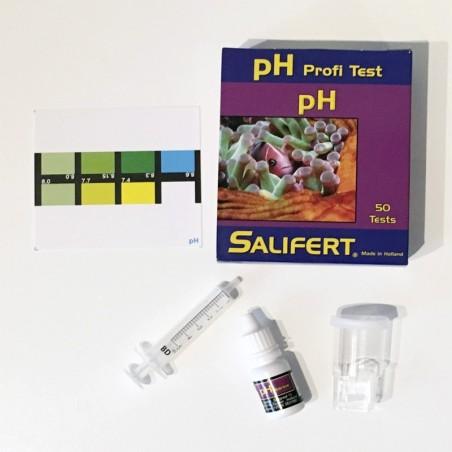 Test barato de pH Salifert para acuarios marinos y de medusas