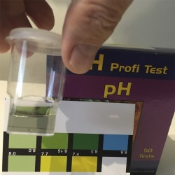 Plantilla de colores de pH para test Salifert