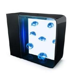 Cubic Pulse 80 medusario acuario de medusas 80 litros negro