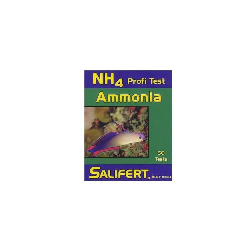 Test de Amonio NH4 Salifert para acuarios marinos y de medusas