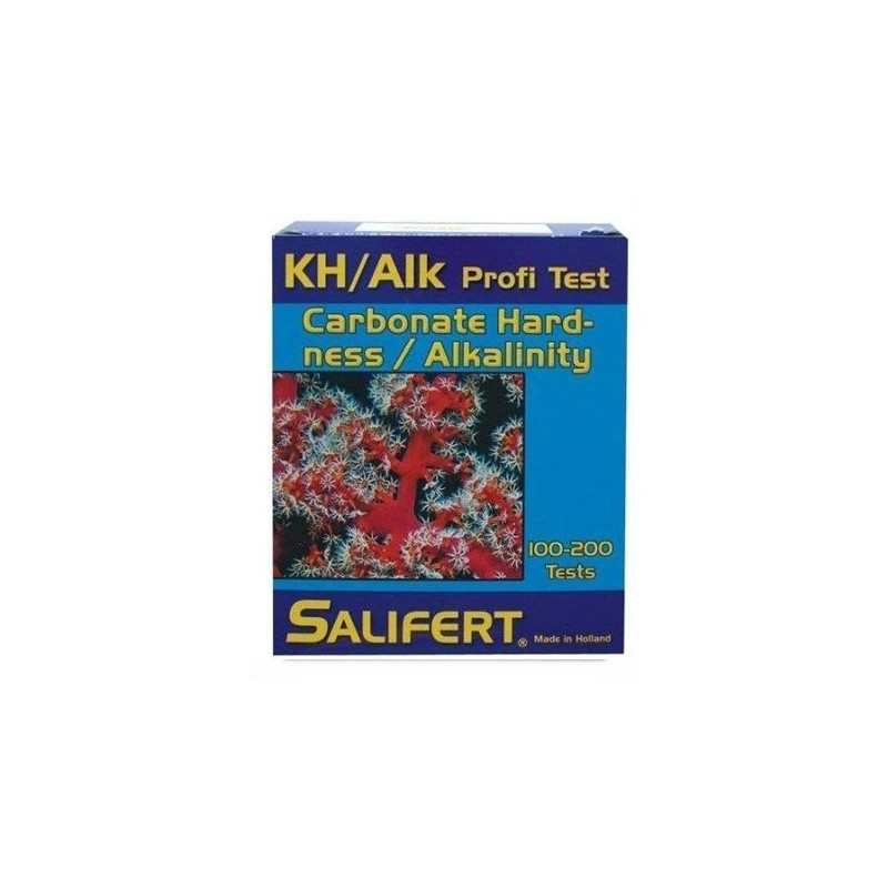 Test de Alcalinidad Carbonatos kH Salifert para acuarios marinos y de medusas