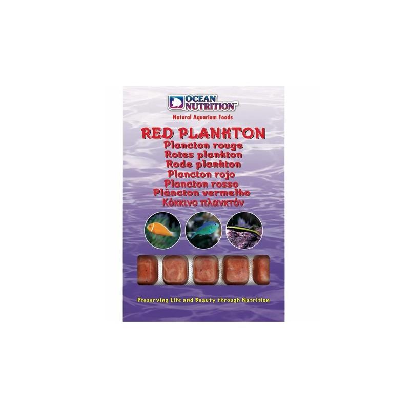 Plancton rojo ocean nutrition alimento congelado para acuario marino y medusas