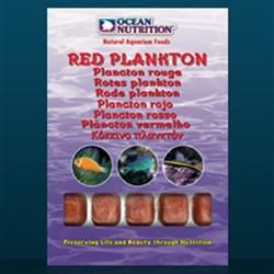 blister plancton rojo ocean nitrition alimento congelado para acuario de medusas